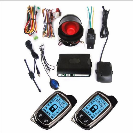 2 Way LCD Car Alarm Keyless Entry Remote Starter