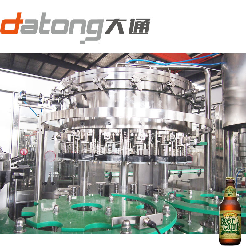 beer drink glass bottling filling machine equipment from Datong