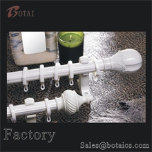 steel window decorative white curtains curtain rod