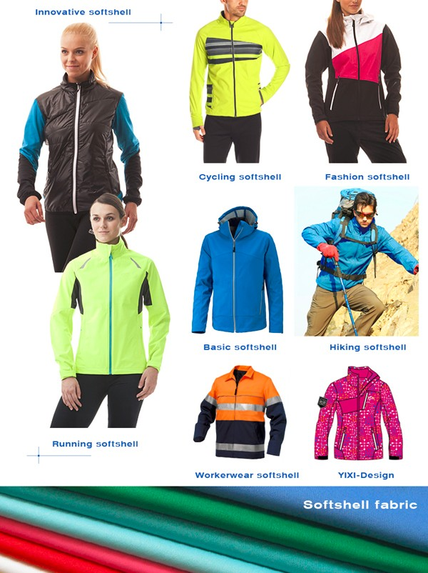 Outdoor men softshell padded down jacekts for winters