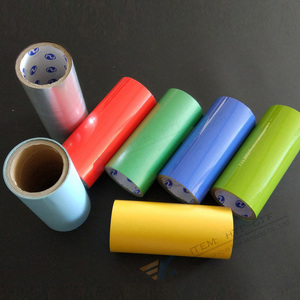 Custom Made Blue Pink Green Color Thermal Transfer Heat Printing Film