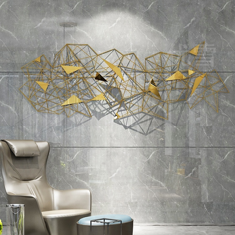 e7f3355cb1 Abstract Stainless Steel Metal Wall Art Decor Sculptures - Buy Metal ...