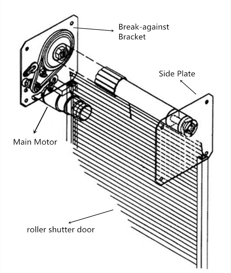 roll up door wiring diagram