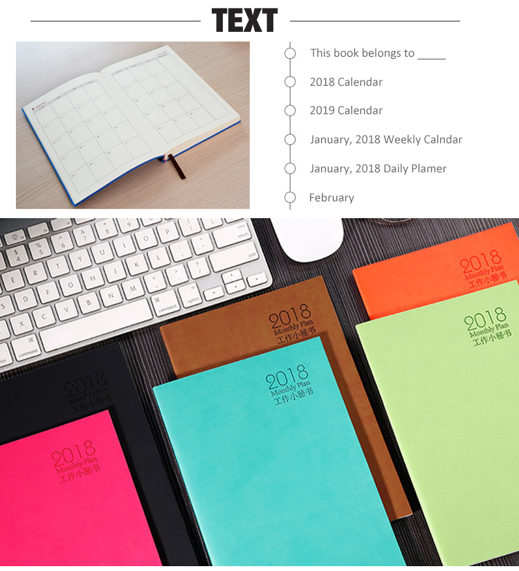 Offset Printing Hardcover Top Quality Wire Binding Journal