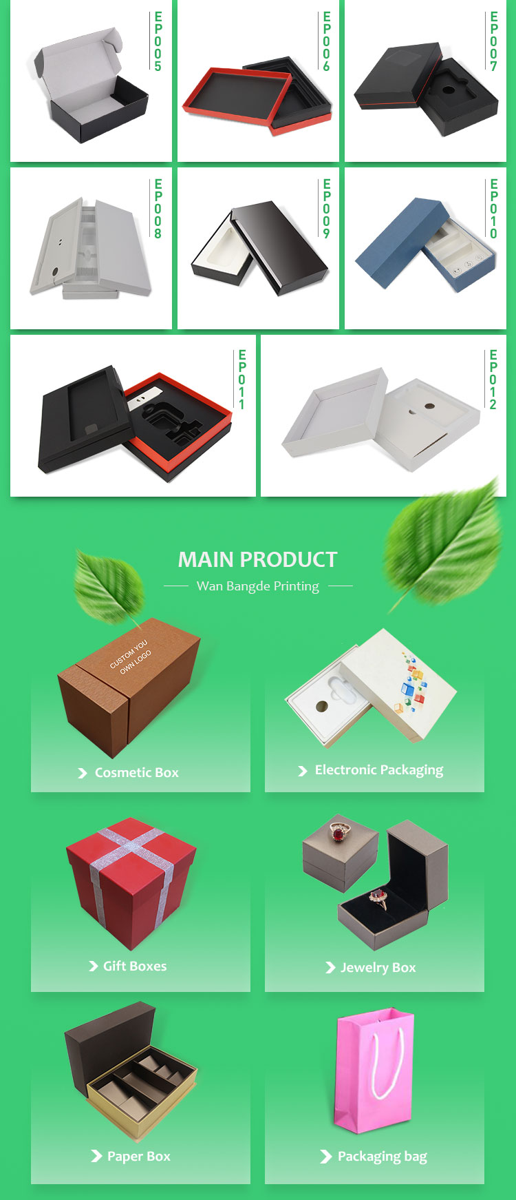 corrugated clothing custom printed shipping boxes wholesale