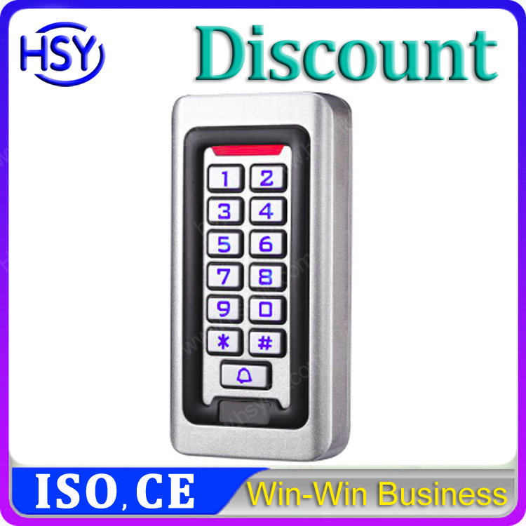 rfid card access control system with IP68 waterproof keypad access control