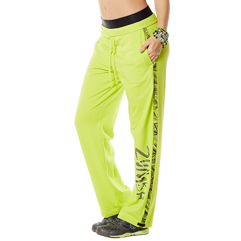 4a6bb5b1656b Get Quotations · Zumba Fitness Women s Jammin  Jersey Pants