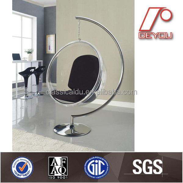 acrylique moderne fauteuil suspendu balan oire chaise bulle chaise du 100 chaises de salon id. Black Bedroom Furniture Sets. Home Design Ideas