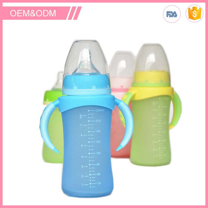 baby items no minimum orders safe & lovely glass baby bottle