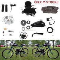 Wholesale Petrol bicycle 2 stroke motor 48cc 49cc 50cc 60cc 66cc 80cc motorized bike gas engine kit