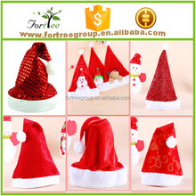 christmas ornaments ordinary santa hats for adults and children