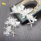 New design wedding accessory carnival feather headdress bridal headpiece hair accessories women