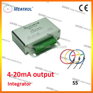 Chinese 4-20mA output integrator S5 series with favorable price flexible CT
