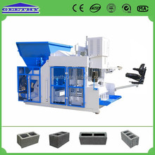 QMY10-15 good density press machine,hollow block project