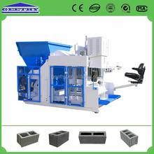 QMY10-15 good density press machine,hollow block project