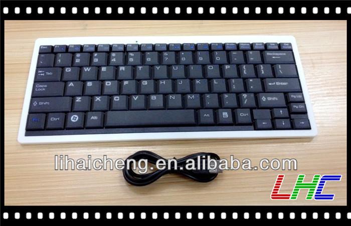 Gkb Mini Usb Keyboard For Laptop Mini External Keyboards Desktop ...