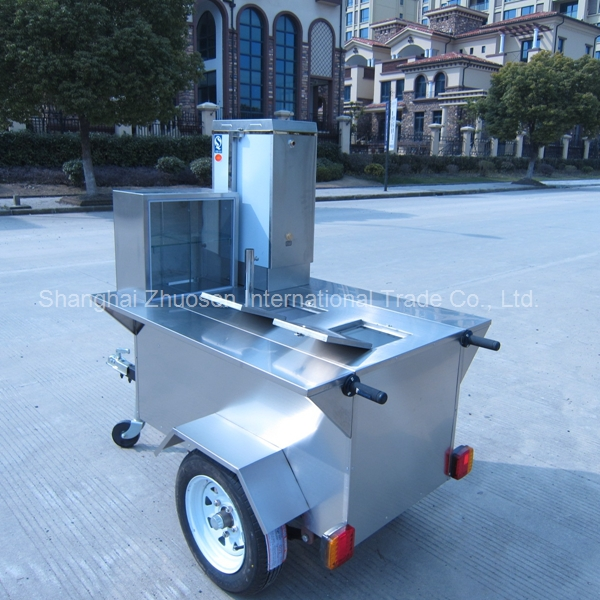 European style gymnasium mobile market field kitchen food - Remorque cuisine mobile ...