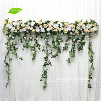 Gnw flw1707028 floral hanging with silk flowers green leaves wedding gnw flw1707028 floral hanging with silk flowers green leaves wedding decoration use mightylinksfo