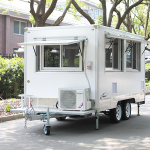 China made coffee cart mobile food trailer / top sale ice cream machine food cart/ China food kiosk & truck & cart YS-FB290A