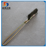 Steel Wire Scratch Knife Brush With Long Handle