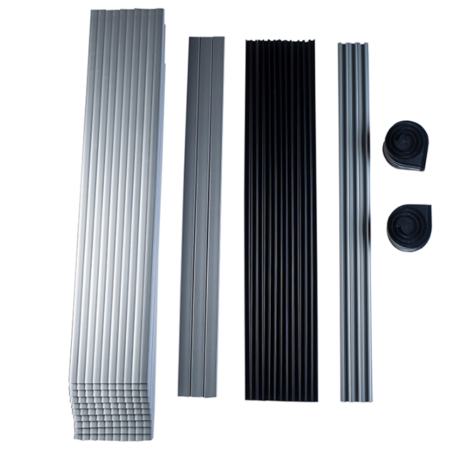 Kitchen Furniture Plastic Extrusion Profiles PVC ABS Slats RV Cabinet Roller Shutter Cupboard Tambour Door