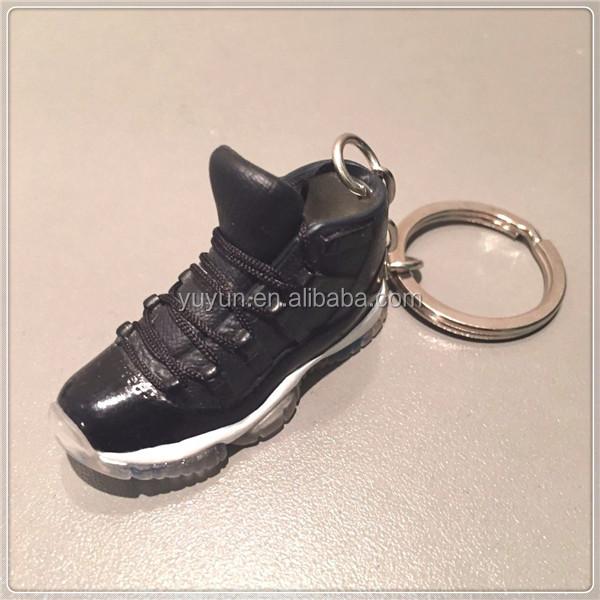 Mini Plastic Shoe Box Keychain