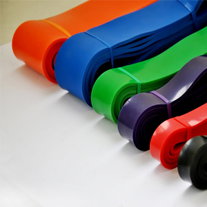 Private label exercise resistance bands set with good quality