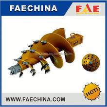 Material:Q345C, With Bauer teeth fishtail pilot, Auger bucket of rotary drilling rig