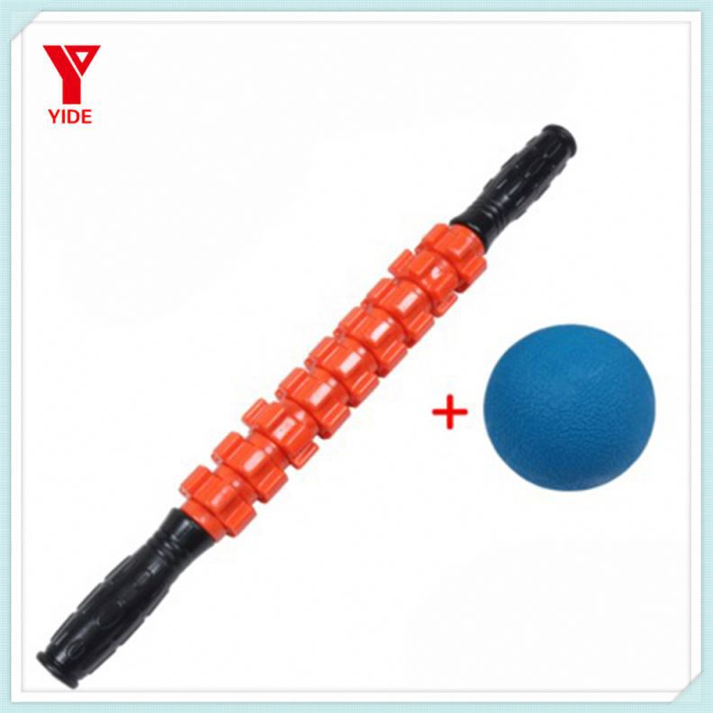 Sports Therapy Roller Stick - Compact Manual Massager Used For Back & Foot Massagers, Legs, Thighs & Calves