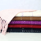 Hot Sale 100% acrylic women fashion Scarf and Shawls for winter