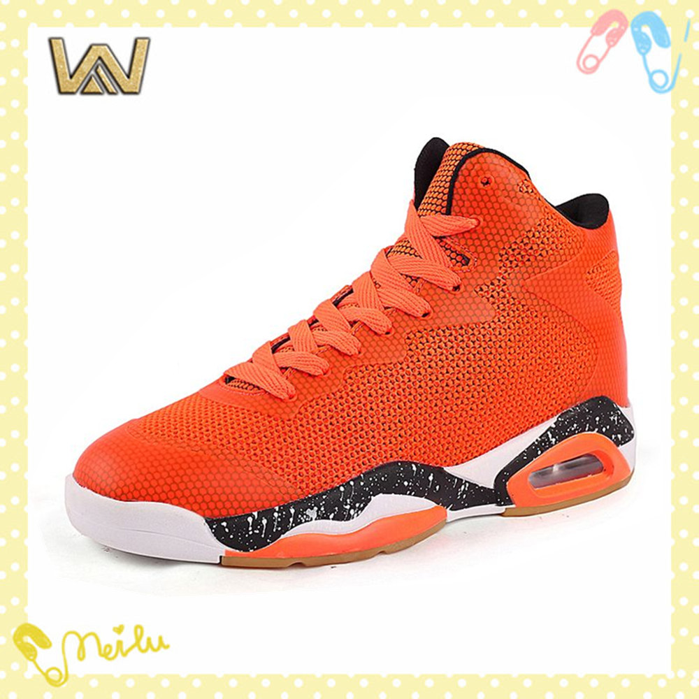 High Quality Lace Up Air Cushion Wholesale Custom Sport Basketball Shoes