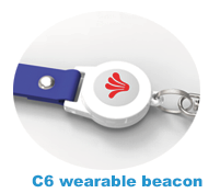 Waterproof beacon ble ibeacon card&nRF52832 beacon