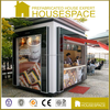 Recycled outdoor Low-cost Houses Container fast food kiosk