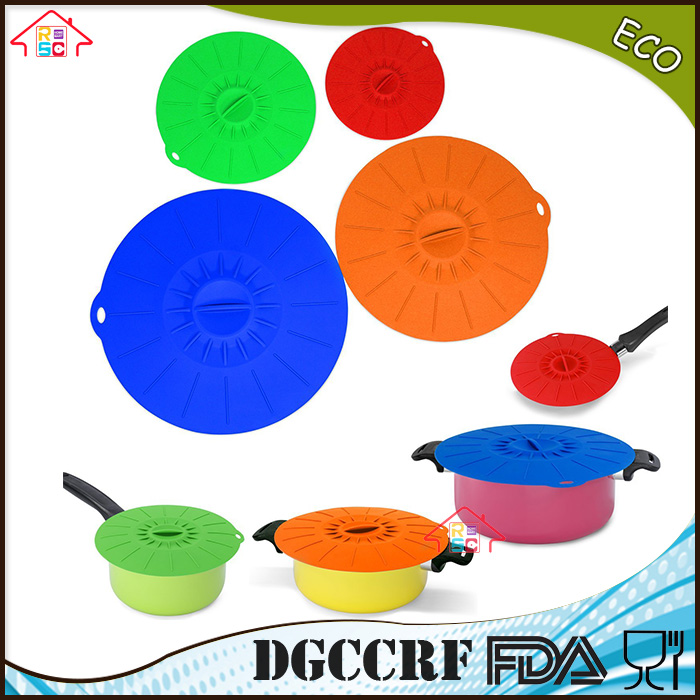 Universal Replacement Lids Reusable Food Saver Covers Microwave Cover Splatter Guard