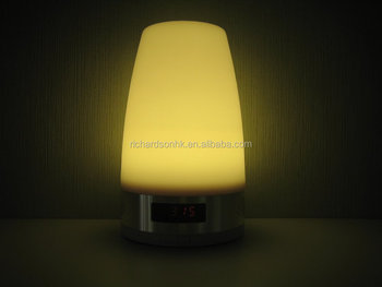 LED Table Light with Bluetooth Speaker function and Alarm clock