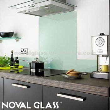 Hervorragend Küche Glas Backsplash, Herd Zurück Glas