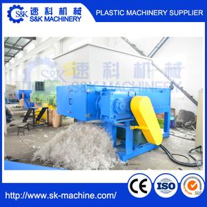shredder plastic recycling machine for plastic scrap in dammam saudi arabia  pvc water pipe