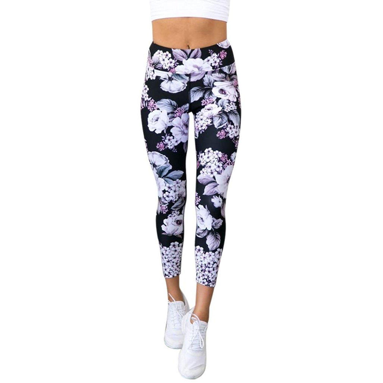 f4e08f2d2e6 Get Quotations · ABASSKY Print Yoga Pants Leggings Yoga Pants Ultra Soft Yoga  Pants Tall Length for Women for