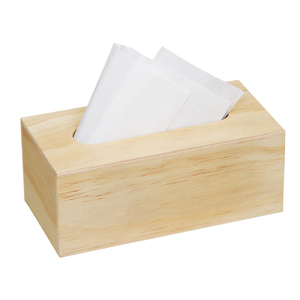 Cheap mini wooden car container holders tissue box