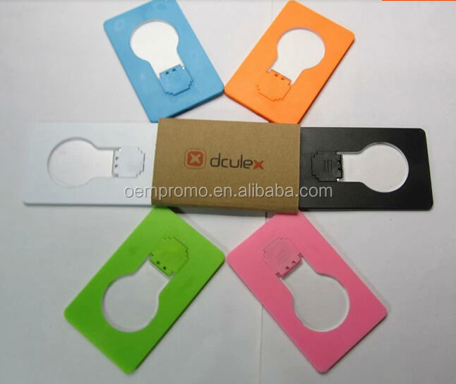 Promotional Credit card shape LED light pocket card LED light