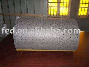 100% PP gray chemical absorbent roll