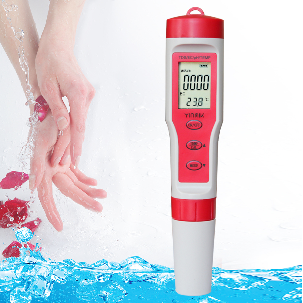 Portable factory price high accuracy pH meter tester