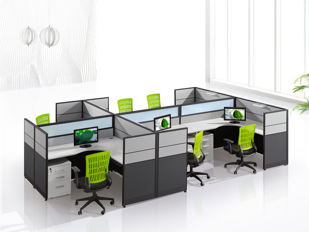 Kantoor ligboxen callcenter meubilair decoratie houten for Cubiculos de oficina