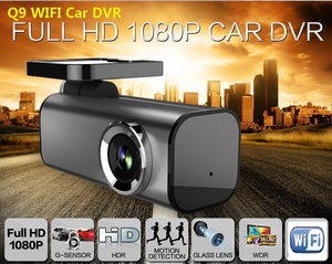 2016 Private model Novatek NT96655 Super mini 1080P Full HD WiFi Car DVR