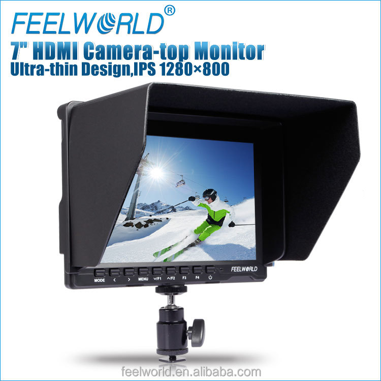 7'' portable field monitor with hdmi video audio for professional movie maker