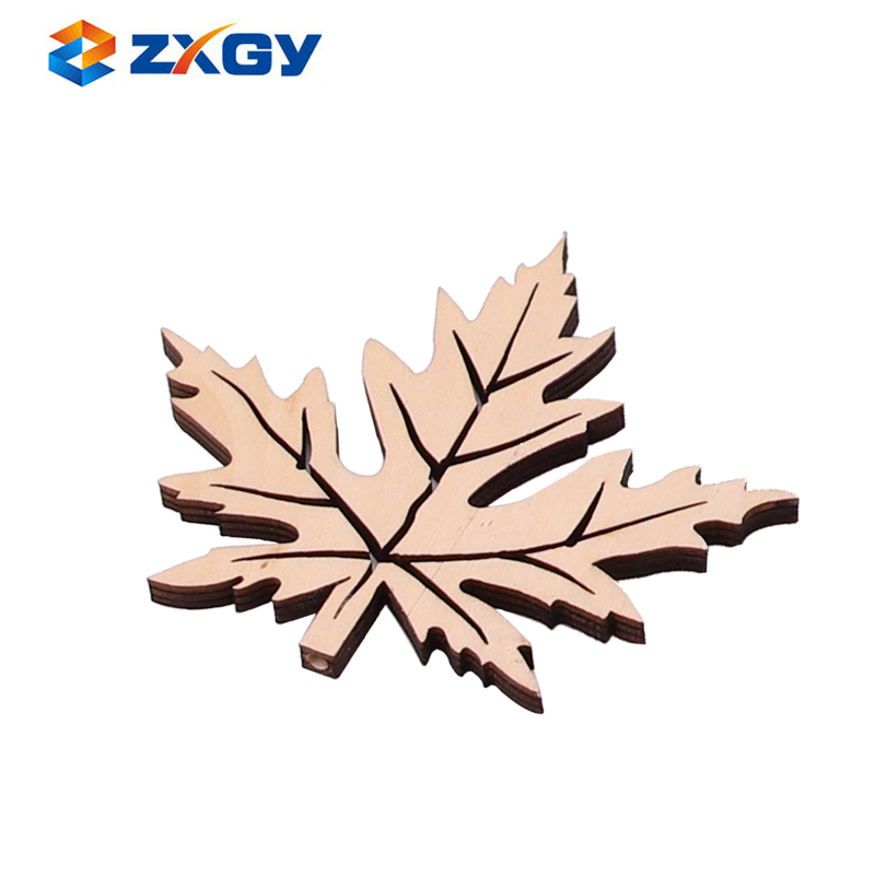 DIY Decoration Natural Small Wooden Pieces For Craft