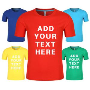 2018 Wholesale Custom Logo Printing/Embroidery T Shirt for Men