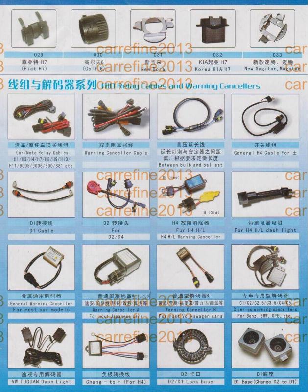 Hid Adapter Bulb Holder For Vw Golf 7 H7 Base