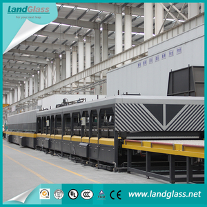 LandGlass High Efficiency Jet Convection Toughened Glass Plant Glass Production Machinery