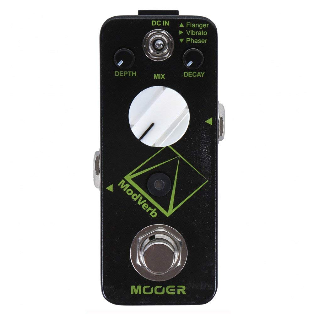 Mooer Audio Micro Modverb Modulation Reverb Guitar Effects Pedal